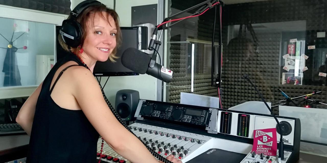 Audrey Radondy : info locale et éducation aux médias sur Radio B