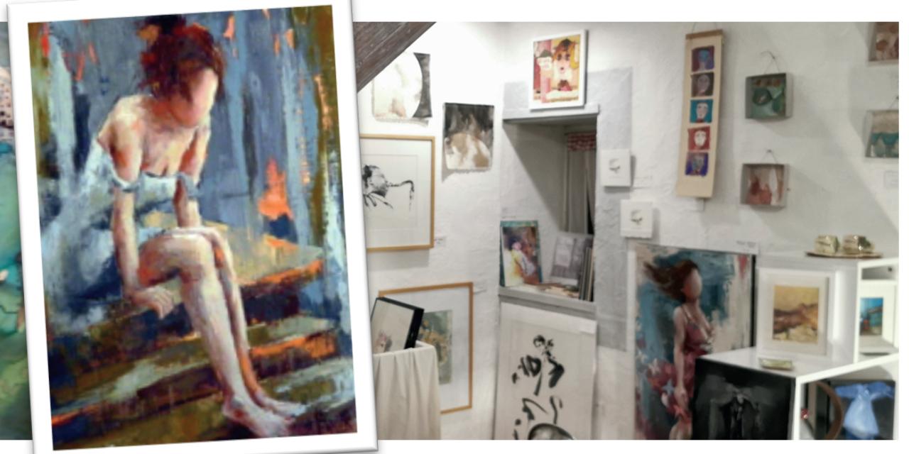 Dingues d'art s'installe pour les fêtes rue Thomas Riboud