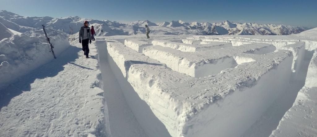 Labyrinthe des neiges