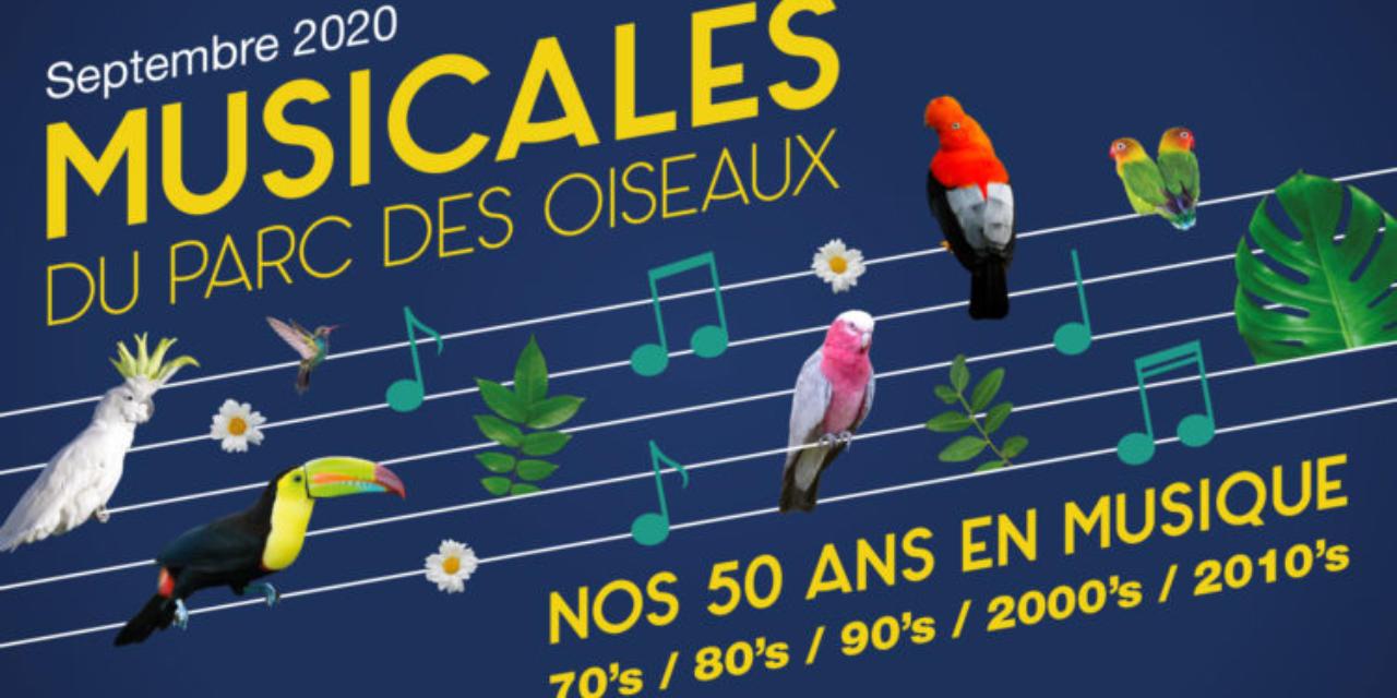 Les Musicales du Parc : Cinq décennies d'artistes