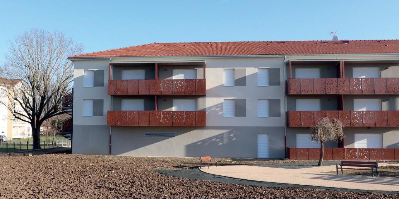 21 appartements pour les aînés à Mézériat avec Dynacité