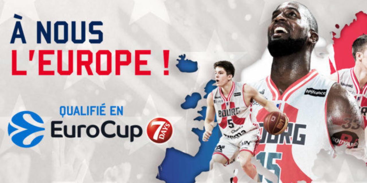La JL Bourg officiellement en coupe d'Europe !