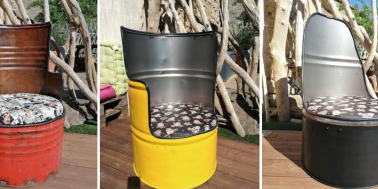 Mobilier recyclé de maître-nageur confiné