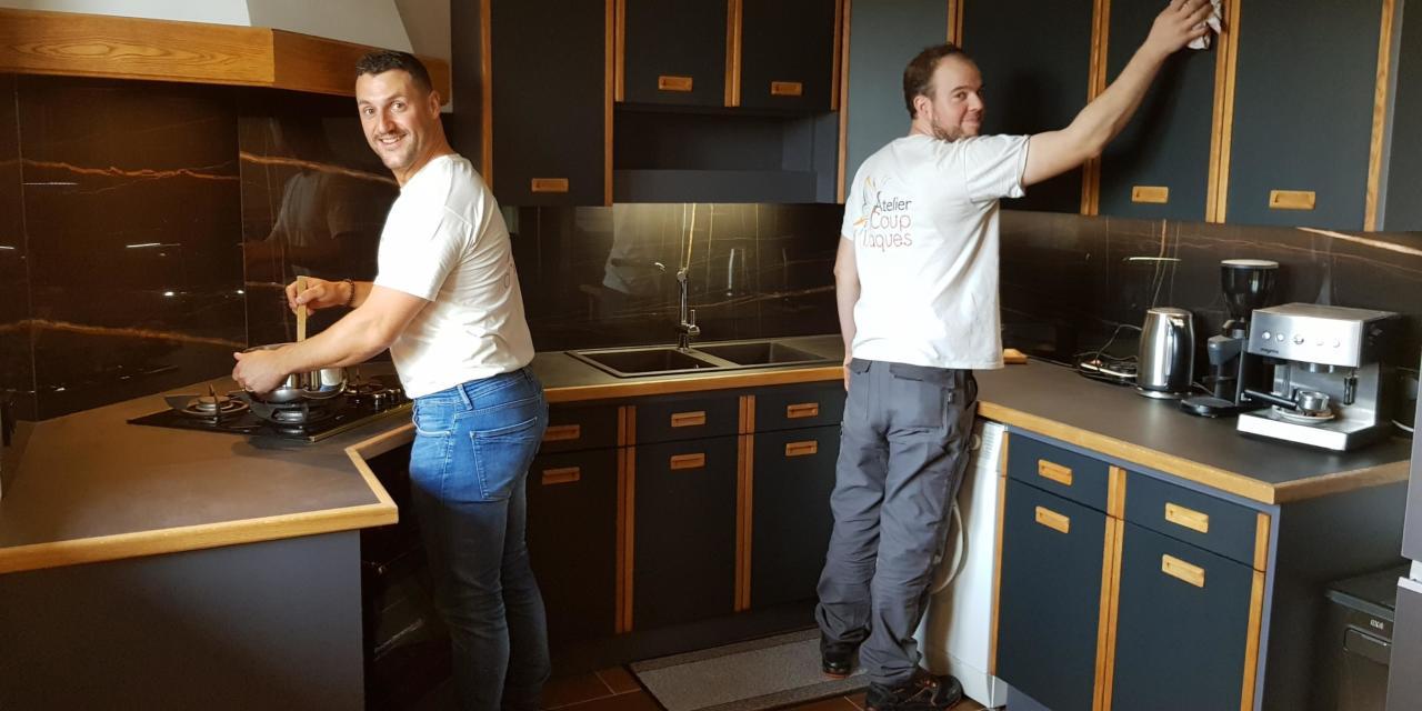 Atelier Coup d'Laques : l'expert de la rénovation de cuisine