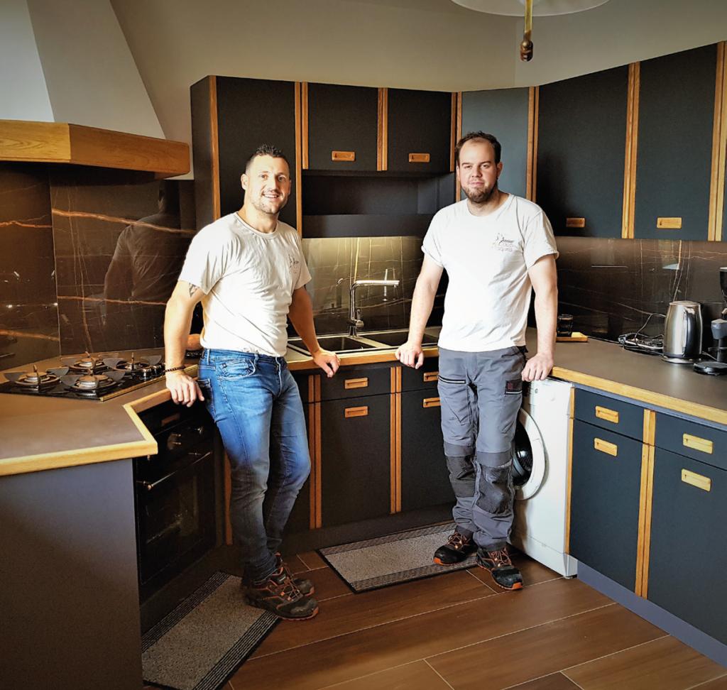cuisine atelier coup dlaques après