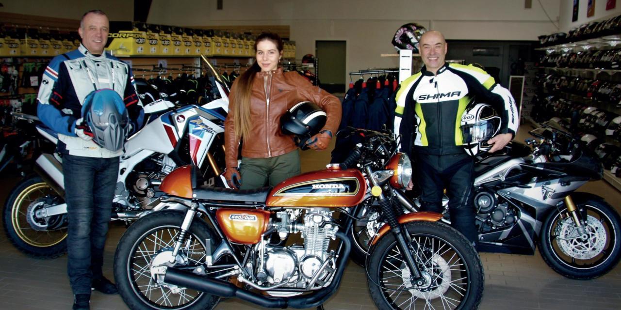 Bienvenue chez Djac Rider, la boutique du motard