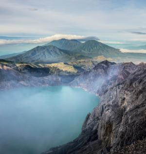 volcan ijen indonesie