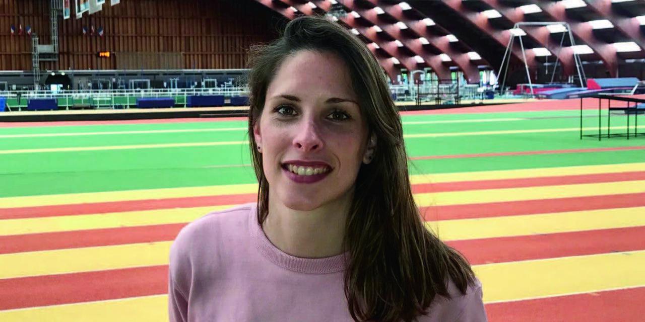 Charline Courtois, diététicienne des athlètes olympiques