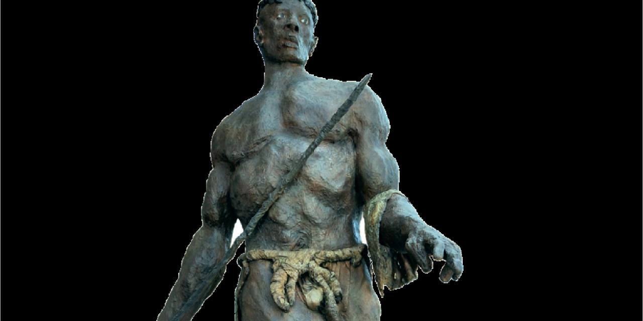 La sculpture prend ses aises dans le parc du château Bouchet