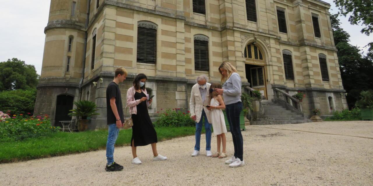 On a testé le jeu de piste numérique du château de Fleyriat !