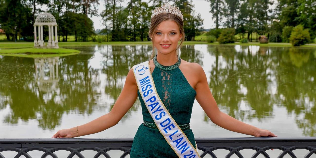 Agathe Andrieux en lice pour Miss Rhône-Alpes
