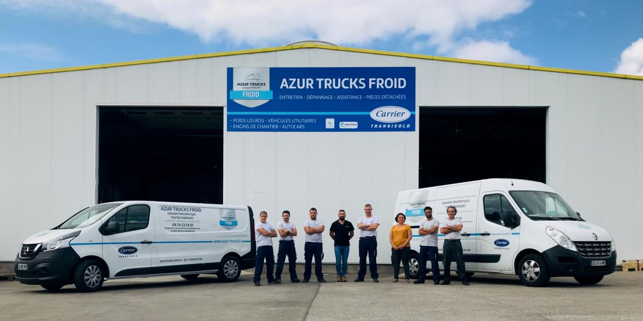 Azur Trucks Froid : «La chaîne du froid de s'arrête jamais, nous non plus !»