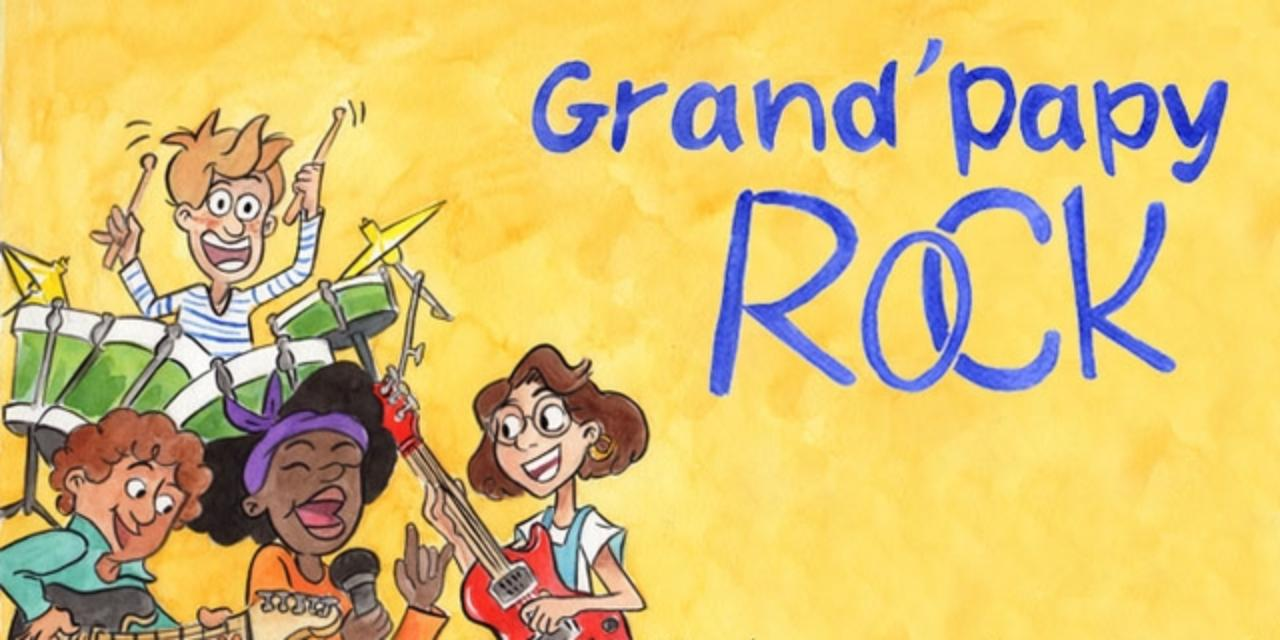 Grand'Papy Rock, un livre musical 100% local